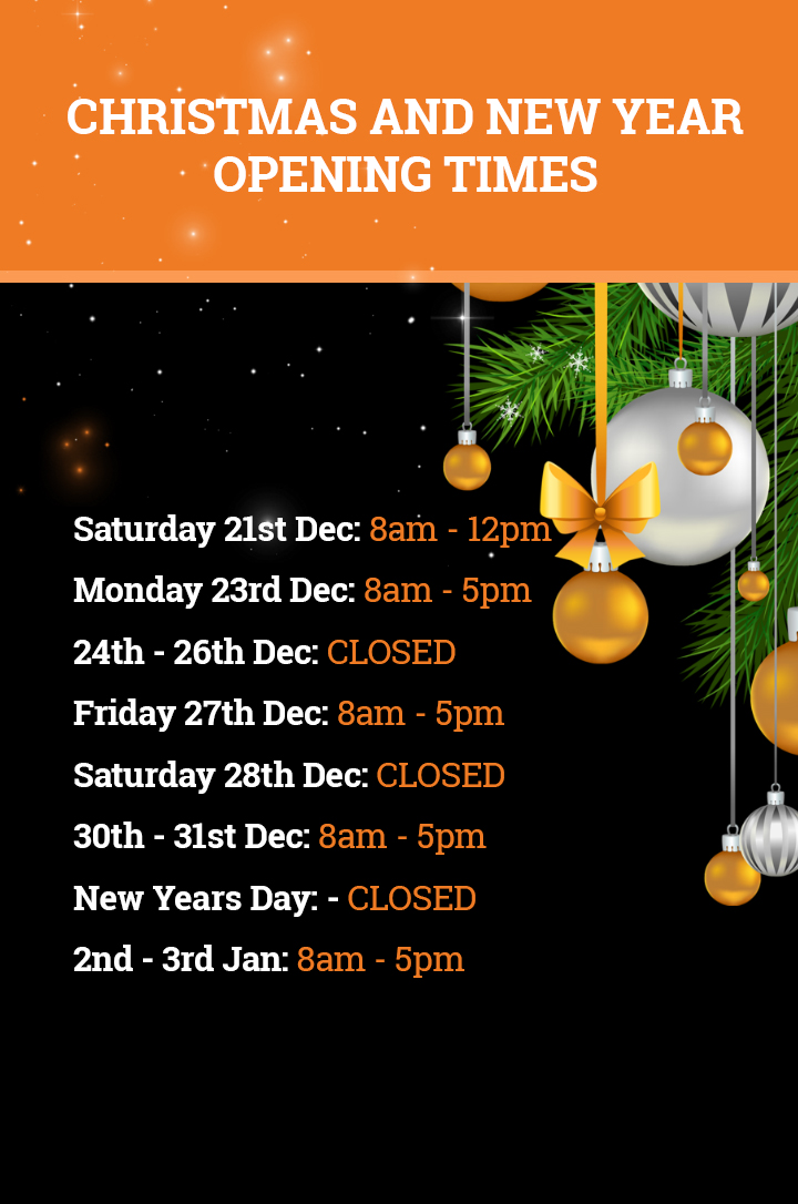 George Carr Christmas opening hours