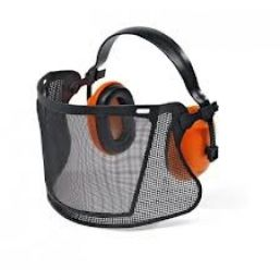Stihl ECONOMY face protection with nylon mesh