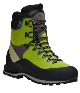 Arbortec Scafell Lite class 2 chainsaw boots (Lime)