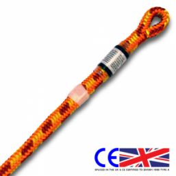 Yale XTC Fire 12.6mm spliced climbing rope