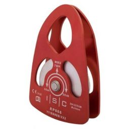 ISC swing cheek single pulley for 16mm rope