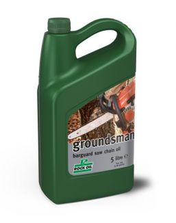 Rock Oil groundsman chainsaw oil