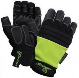 Arbortec AT1200 fingerless utility gloves