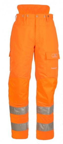 SIP Protection Freedom Hi-Viz GO/RT Orange Type A chainsaw trousers