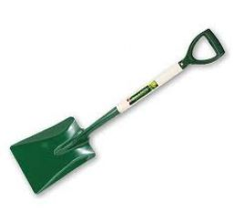 Bulldog open socket square shovel