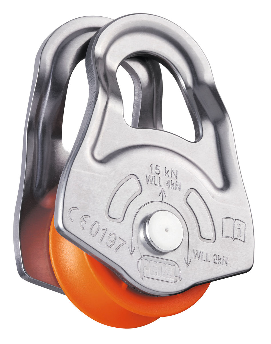 Petzl OSCILLANTE swing-sided pulley
