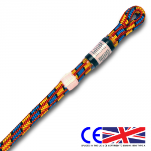 Yale XTC Blue Tongue 11.7mm spliced climbing rope