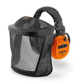 Stihl DYNAMIC BT with nylon mesh visor